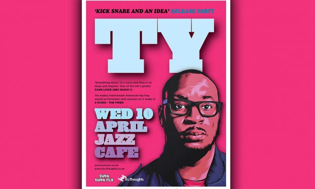 ShakaRa Speaks On it Review of Ty's 'Kick, Snare & an Idea' EP Launch @ Jazz Cafe