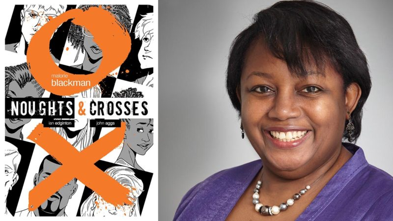 malorie blackman noughts and crosses personal Malorie blackman, obe, has written over 50 books and held the position of children's laureate from 2013 to 2015 she talks to us about her writing influences.