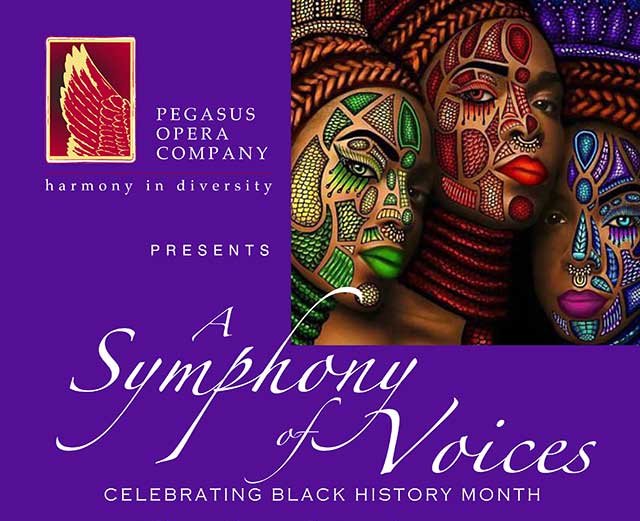 Pegasus Opera Company Presents 'A Symphony of Voices' Thurs 13th October
