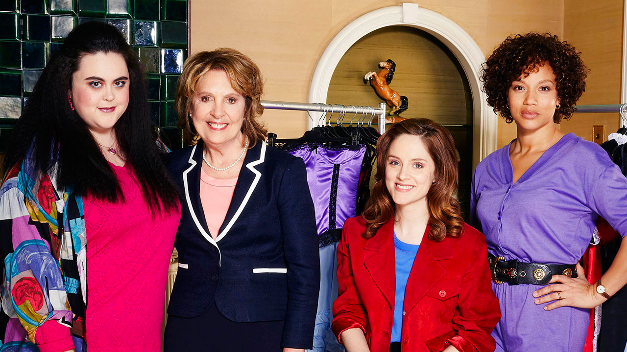 Cast of ITV's 'Brief Encounters' (l-r) Dawn (Sharon Rooney), Pauline (Dame Penelope Wilton), Steph (Sophie Rundle), Nita (Angela Griffin)