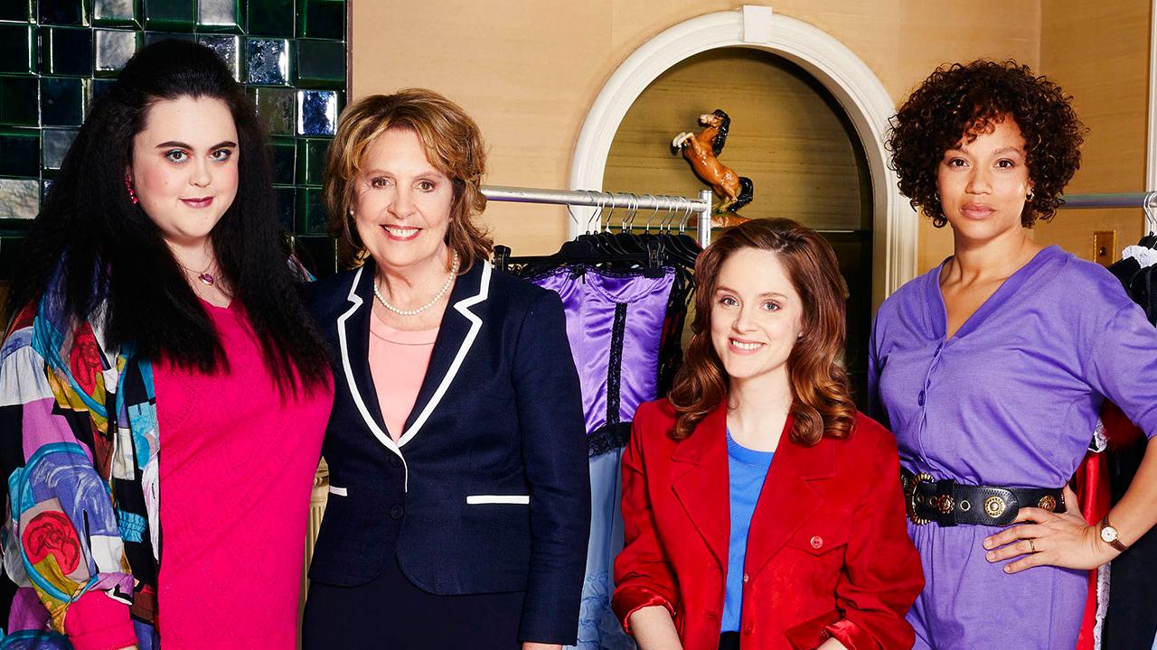 Cast of ITV's 'Brief Encounters' (l-r) Dawn (Sharon Rooney), Pauline (Dame Penelope Wilton), Steph (Sophie Rundle), Nita (Angela Griffin)