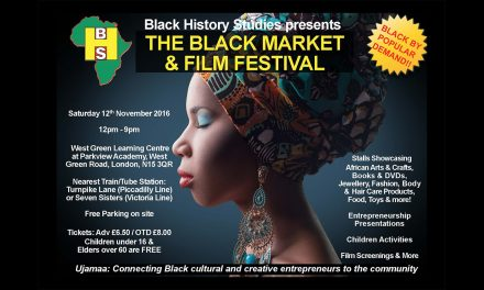 The 9th Black Market & Film Festival Gears Up For Saturday 12th November 2016!