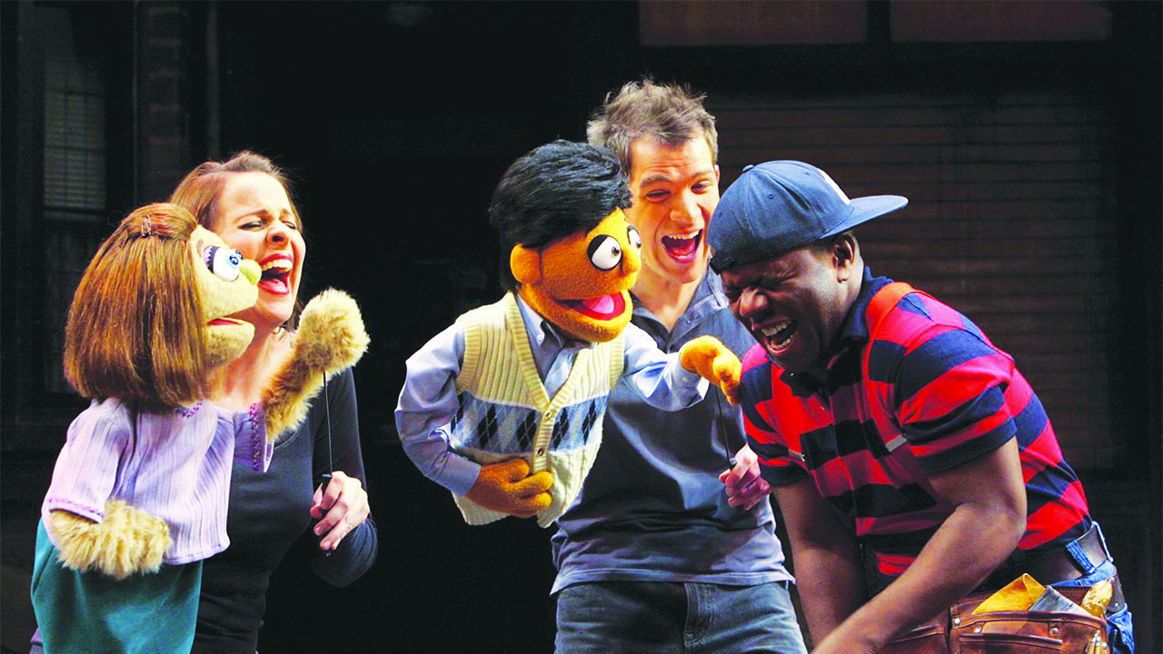 Delroy Atkinson as 'Gary' in Avenue Q