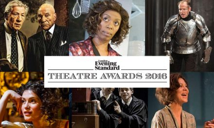 Playwright Charlene James & Actor Tyrone Huntley Honoured At Sunday Night's 62nd London Evening Standard Theatre Awards!