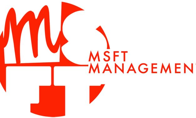 Casting Call – MSFT Management