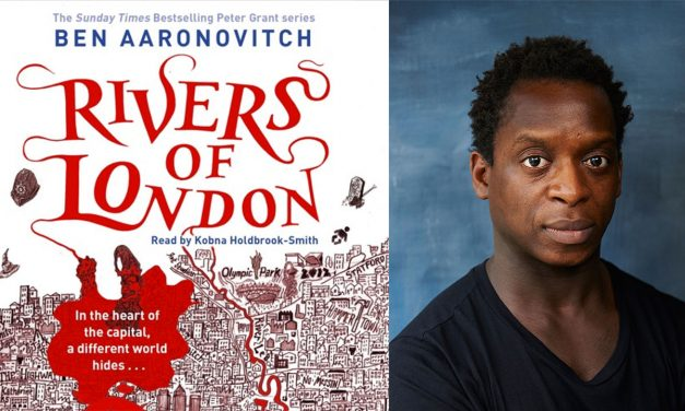 75% #OutOf100 – Rivers Of London Audiobook, Read By Kobna Holdbrook-Smith!