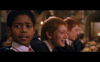 Alfred Enoch as 'Dean Thomas' in the Harry Potter film franchise.