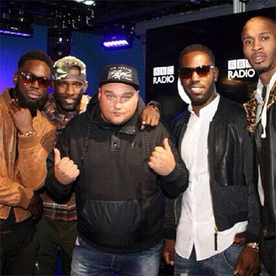 The Movement - Ghetts, Wretch 32, Mercston & Scorcher, with 1Xtra radio DJ Charlie Sloth