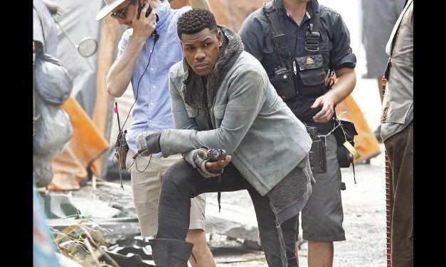 See New On Set Pics of John Boyega – Pacific Rim: Uprising