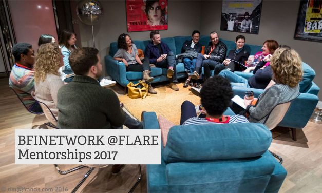 APPLY For BFInetwork@Flare In Partnership With BAFTA. Deadline Fri 17th March 2017