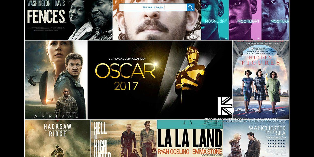 TBB's Not Quite Oscar Predictions 2017 Edition