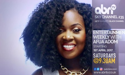 Entertainment Weekly Hosted by Afua Adom Comes to ABN TV Saturdays 9:30am