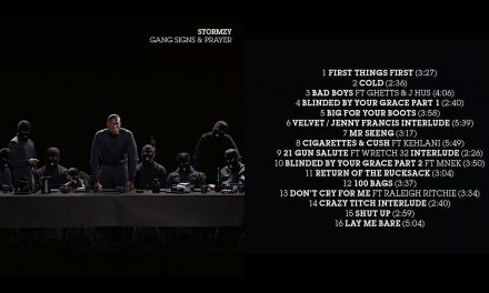 74% #OutOf100 – Stormzy – Gang Signs & Prayer