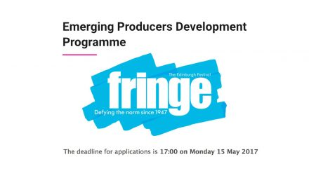 Applications Open For Edinburgh Fringe Emerging Producers Development Programme