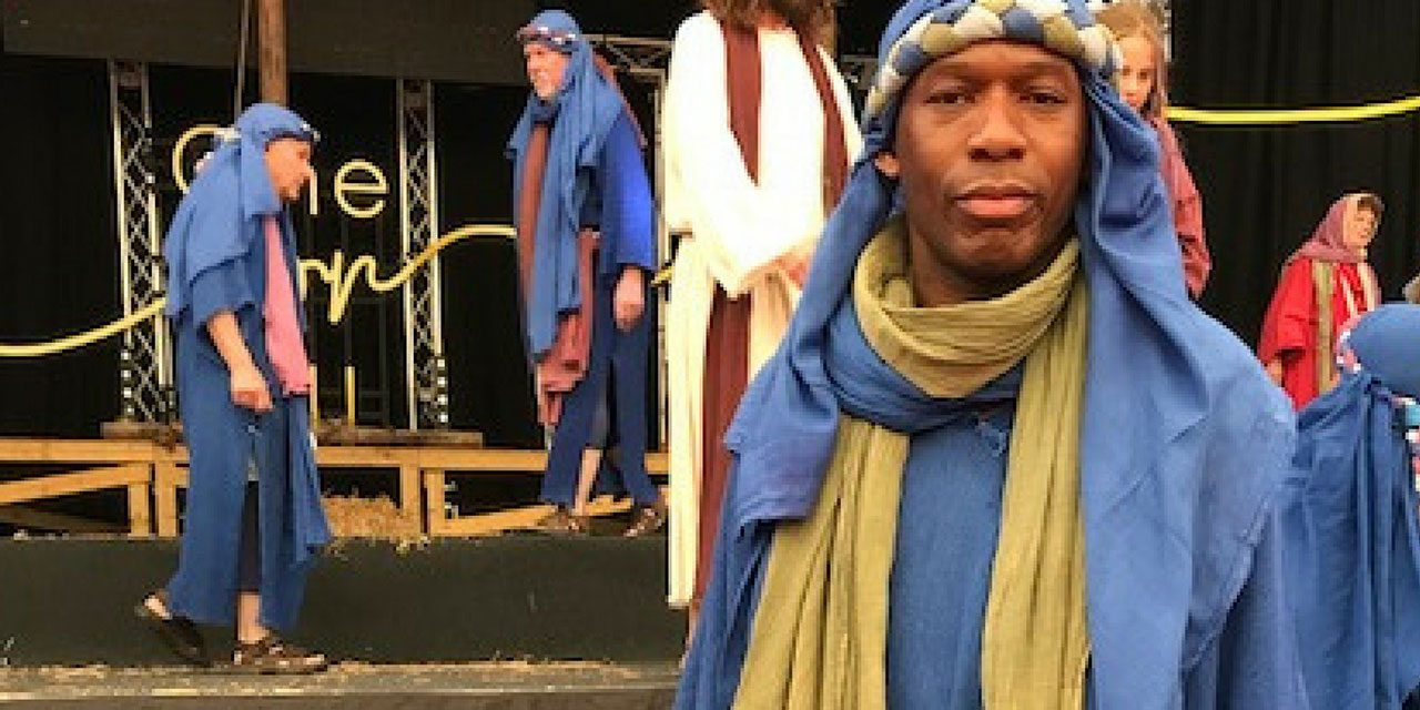 #TBB10 With David Olawale Ayinde Starring in The Passion Outdoor Production This Easter Weekend