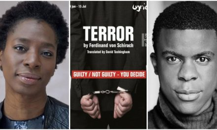 Tanya Moodie & Ashley Zhangazha Cast in 'Terror' at The Lyric Theatre