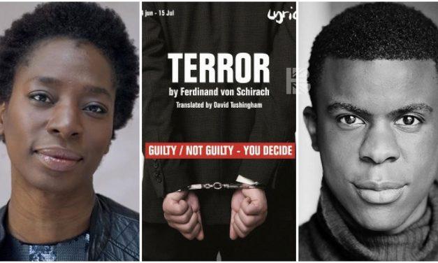 Tanya Moodie & Ashley Zhangazha Cast in 'Terror' at The Lyric Theatre