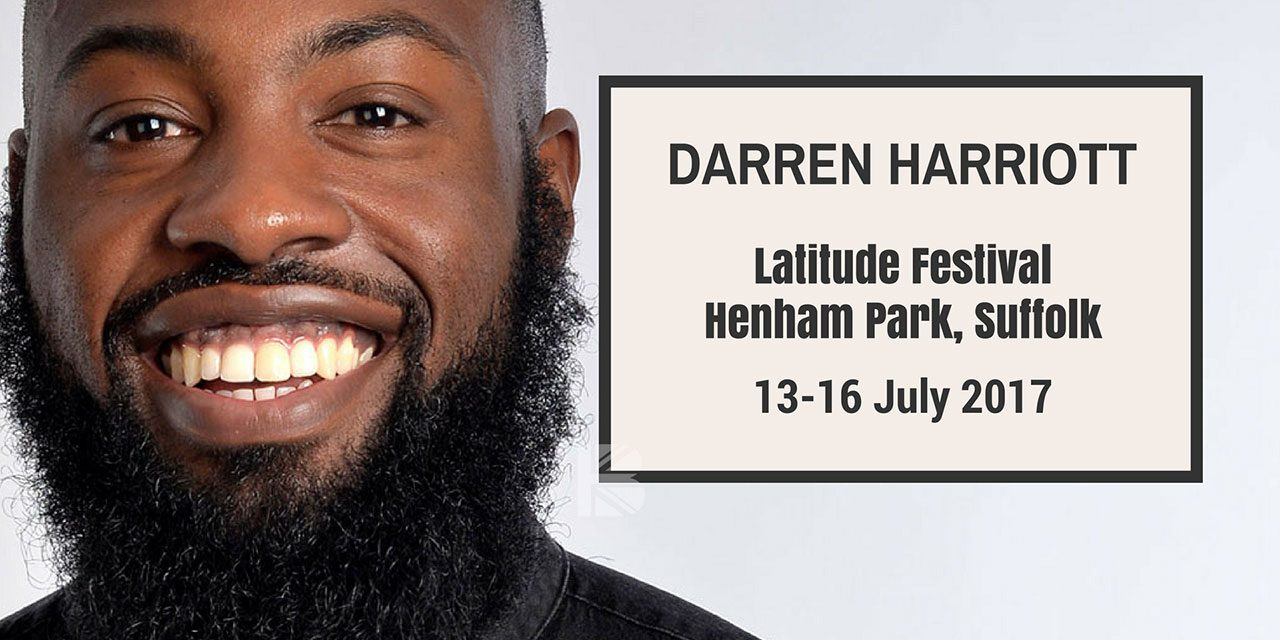 #TBB10 With Comedian Darren Harriott – Ahead of Latitude Festival 2017