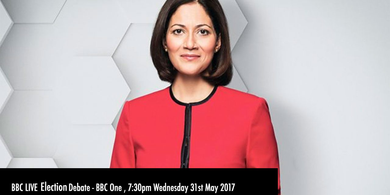 What's On TV – BBC One Election Live Debate 7:30pm TONIGHT