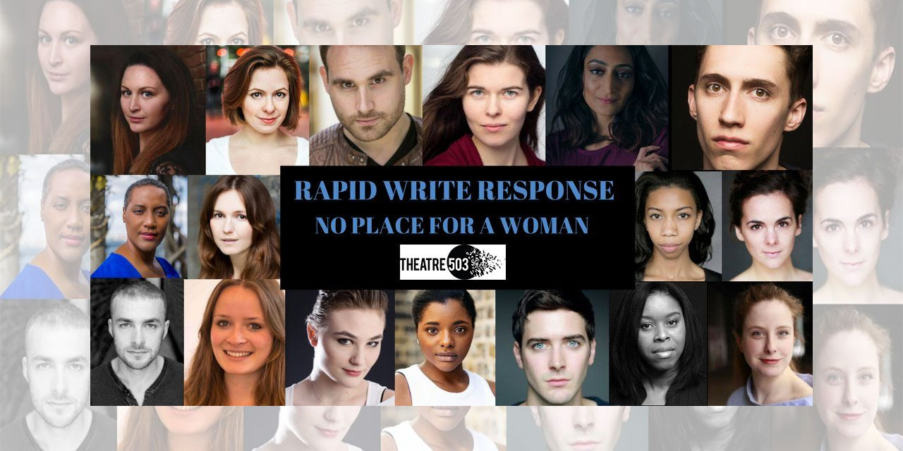 "Short Plays ""The Subject"" by Brian Eley And ""Do You Pray"" By Yasmin Joseph Impress at Theatre 503's Rapid Write Response Night!"
