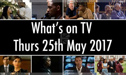 What's On TV – Thursday 25th May