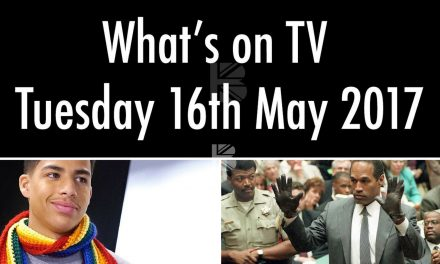 What's On TV – Tuesday 16th May
