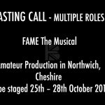 CASTING CALL – Fame The Musical Amateur Production in Northwich