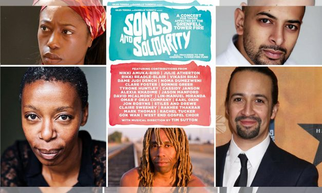 Nikki Amuka-Bird, Rikki Beadle-Blair, Lin-Manuel Miranda & More Join 'Songs And Solidarity' Gala For #GrenfellTower @ Trafalgar Studios Sunday 25th June 2017