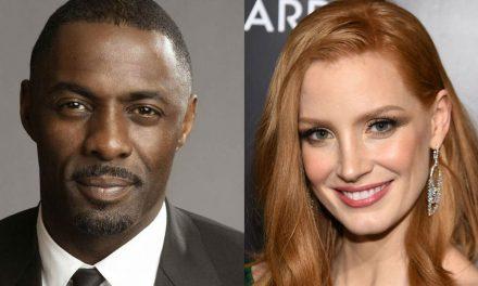 Idris Elba in Talks to Star Alongside Jessica Chastain in New Aaron Sorkin Movie!