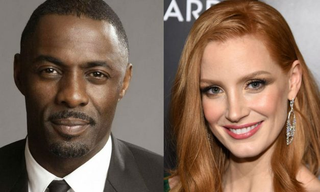 Idris Elba in Talks to Star Alongside ‎Jessica Chastain in New Aaron Sorkin Movie!