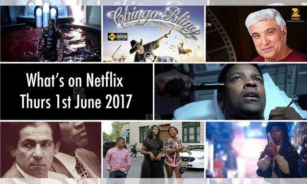 What's On TV – New to Netflix UK Thursday 1st June 2017