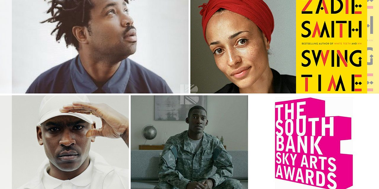 Skepta, Malachi Kirby, Sampha, Zadie Smith Amongst South Bank Sky Arts Awards 2017 Nominees!