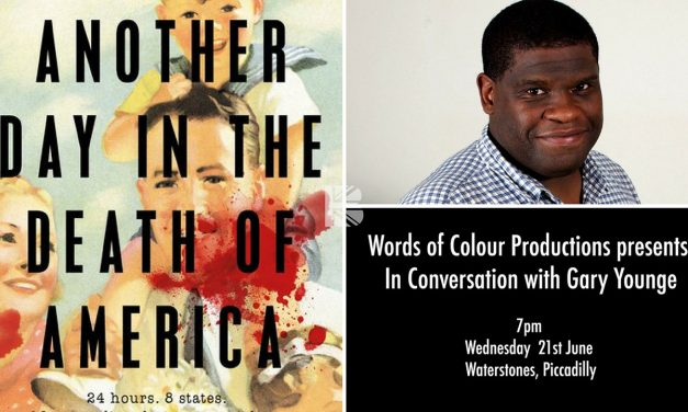 Words of Colour presents: In Conversation with Gary Younge Weds 21st June Waterstones, Piccadilly