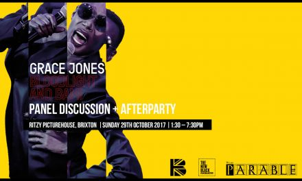 Grace Jones: Bloodlight & Bami + Panel Discussion Sunday 29th Ritzy Picturehouse