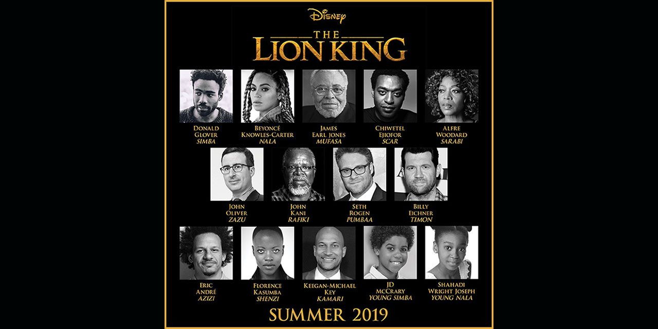 Jon Favreau's Live Action Lion King Boasts an All Star Cast Including Chiwetel Ejiofor