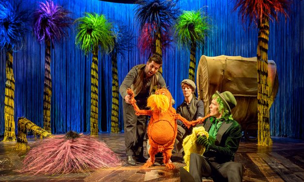 90% #OutOf100 – Dr. Seuss's The Lorax returns to the Old Vic with its highly relevant adaptation