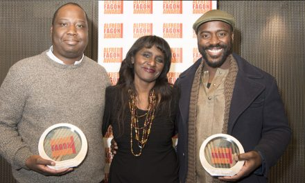 Mufaro Makubika wins Best New Play of the Year at 20217 Alfred Fagon Award