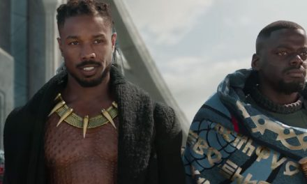 Be still your hearts – New BLACK PANTHER Trailer…