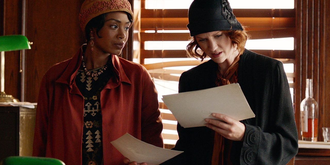 "Jamaican-Canadian Chantel Riley Stars in Period Crime Series ""Frankie Drake Mysteries,"" Premiering on UK's Alibi Channel, 23rd Jan"