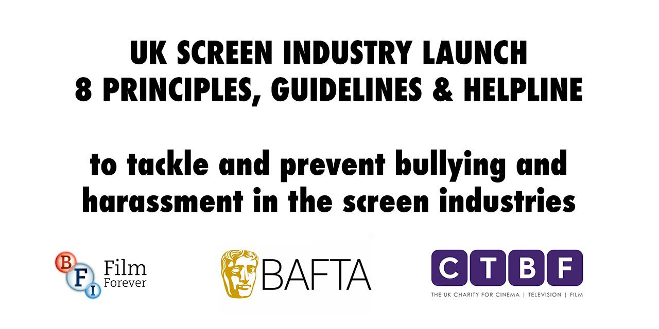 Screen Industries Unite Around New Anti-Bullying and Harassment Principles
