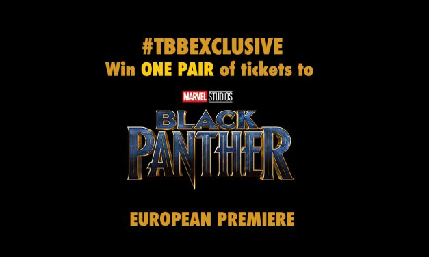 ***Competition Closed*** The British Blacklist is offering ONE PAIR of tickets to European Premiere of BLACK PANTHER!!!