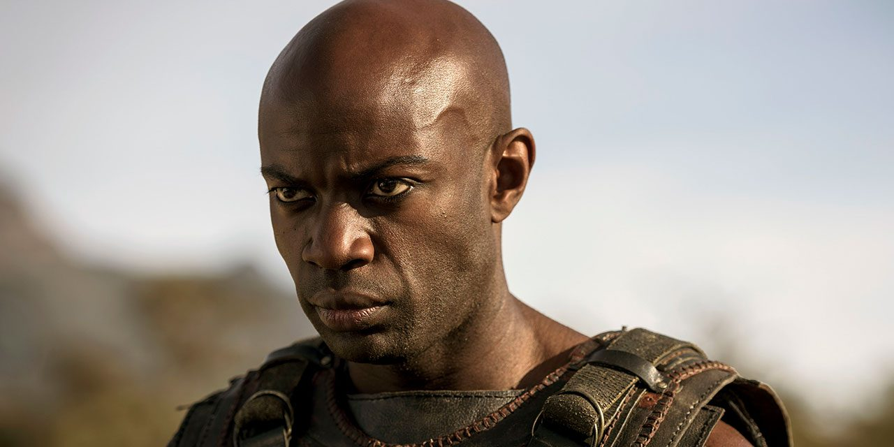#TBB10 with David Gyasi on his Role as Achilles in BBC's Troy: Fall of a City