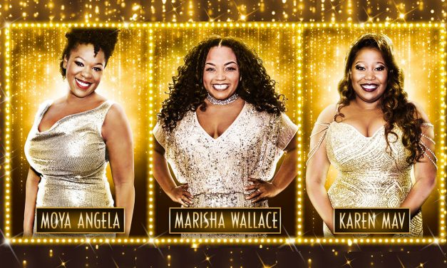 #TBB10 with former X Factor contestant Karen Mav and Marisha Wallace & Moya Angela who will share the role of Effie White in Dreamgirls LDN