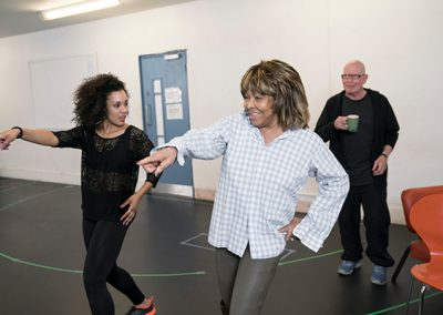 l-r-Simone-Mistry-Palmer-(Associate-Choreographer)-Tina-Turner-and-Anthony-van-Laast-(Choreographer).-Photo-by-Johan-Persson