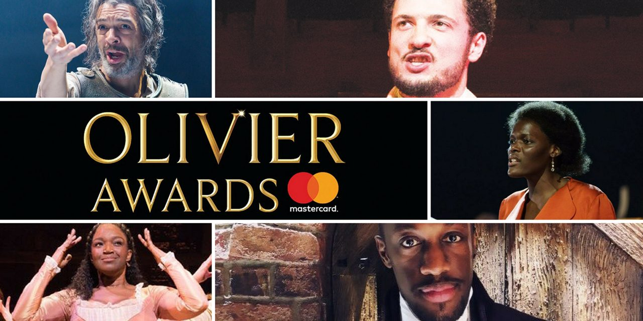 Brilliant line up of on stage diverse talent nominated at 2018 Olivier Awards