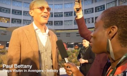 TBB at Avengers: Infinity War UK Fan Event – Paul Bettany