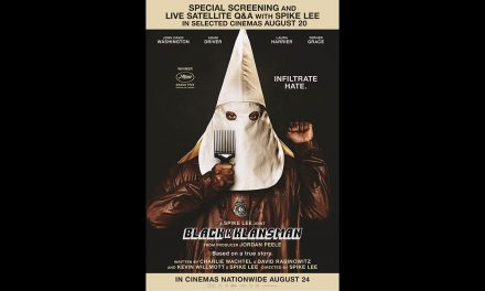 TBB has 3 pairs of tickets to BLACKkKLANSMAN Special Screening & Livestreamed Q&A with director Spike Lee
