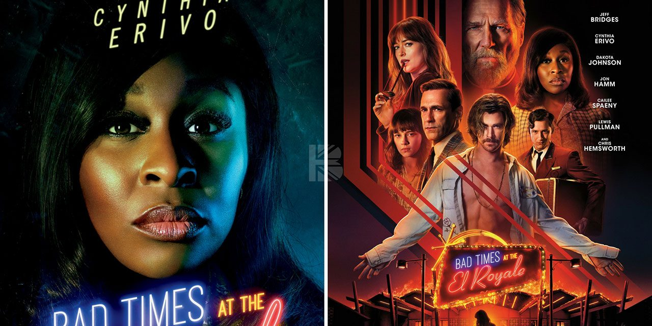Cynthia Erivo's Bad Times At The El Royale Character Poster Revealed