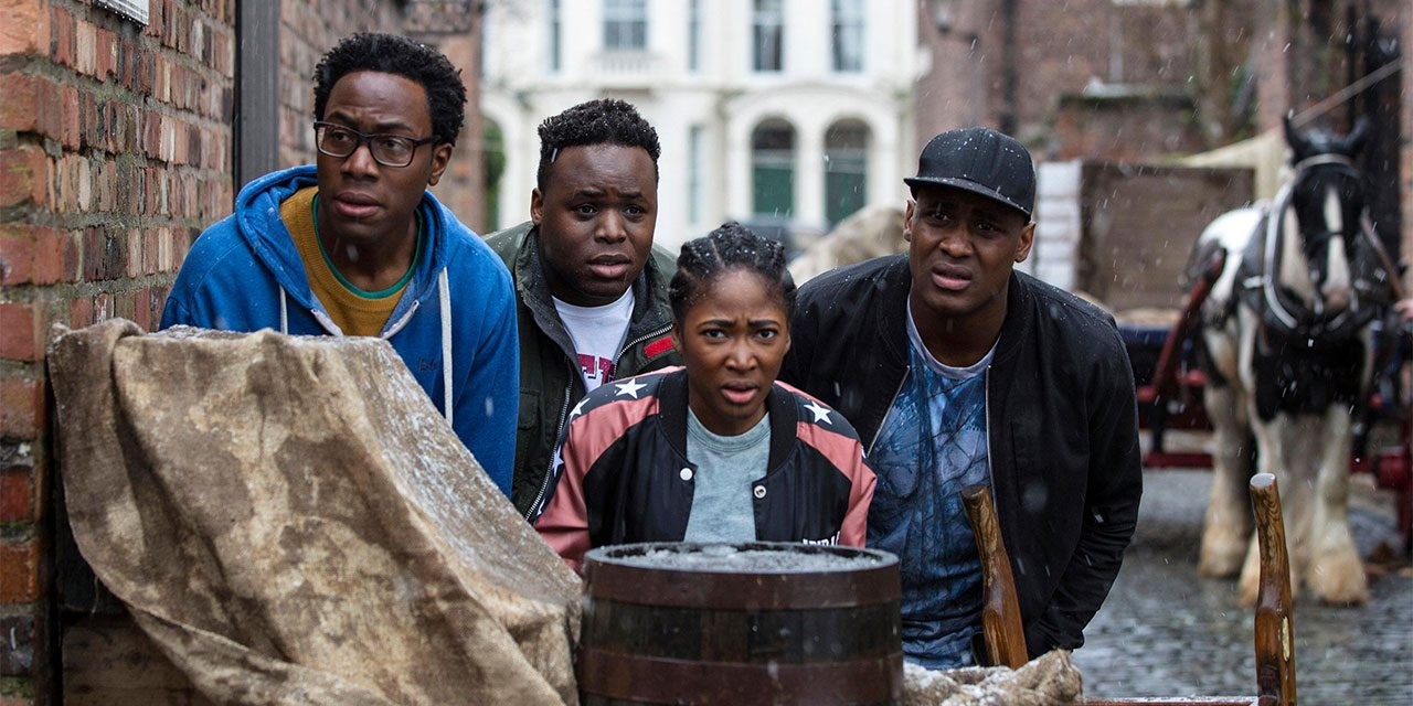 Brilliant! Timewasters gets a second series on ITV