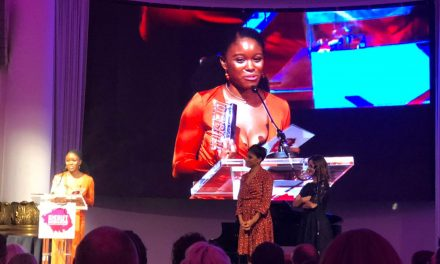 Amara Okereke Wins at the Debut Stage Awards!